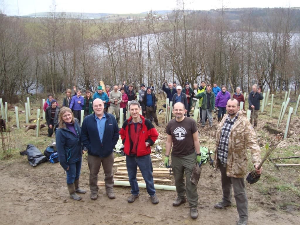 Green Building Store and Colne Valley Tree Society at Scammonden Water 2016