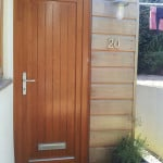 Green Building Store PERFORMANCE thermally efficient timber entrance door