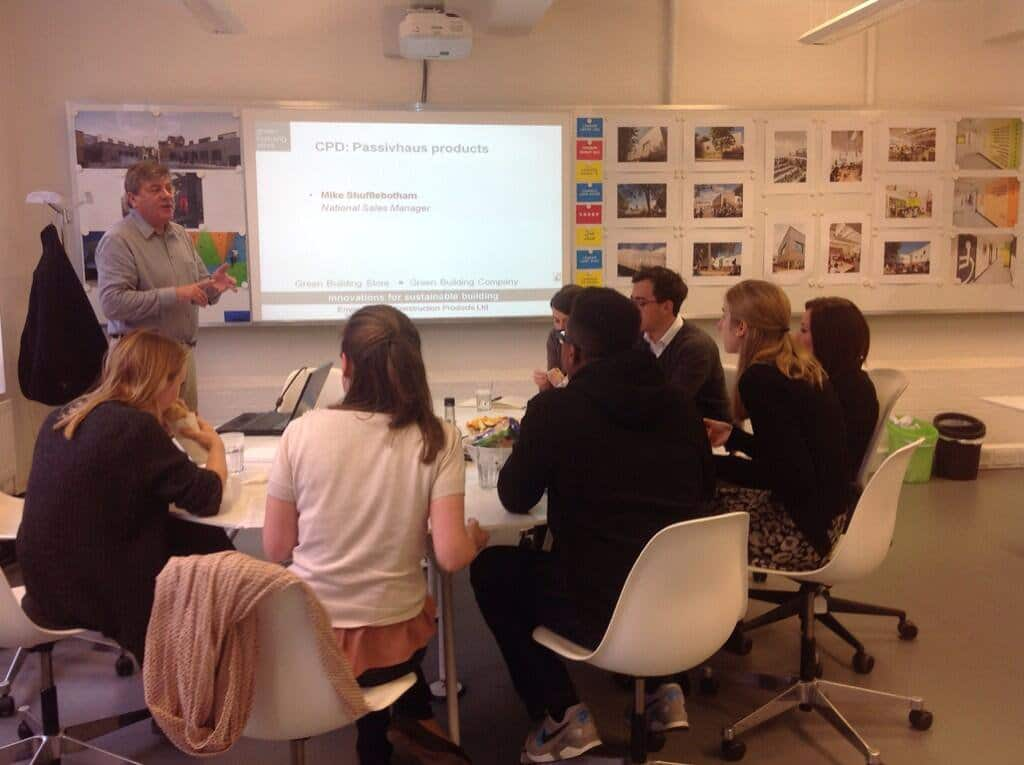 Green Building Store FREE Passivhaus CPD
