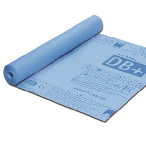 Pro Clima DB + Intelligent vapour check and airtight membrane