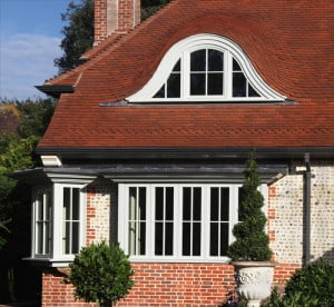 Green Building Store PERFORMANCE windows at Arts and Crafts style housee Sussex