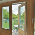 Green Building Store PERFORMANCE triple glazed timber French door
