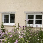 Green Building Store PERFORMANCE triple glazed timber windows inward opening tilt and turn