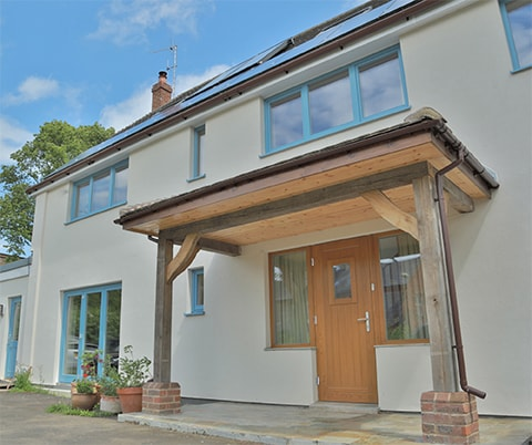 PERFORMANCE triple glazed windows and doors at Oxford retrofit