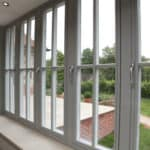 Performance triple glazed timber windows at Arts Crafts house