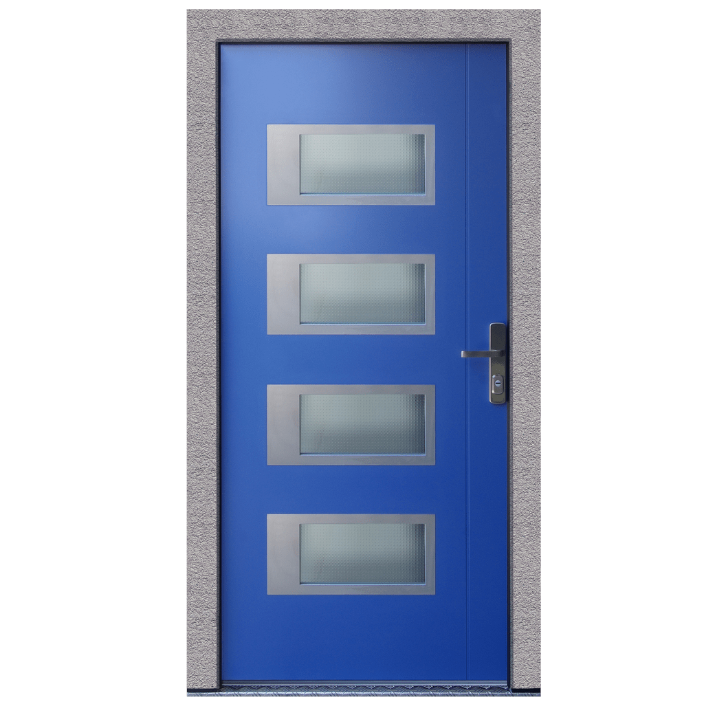 Progression entrance doors green building store green for Entrance doors