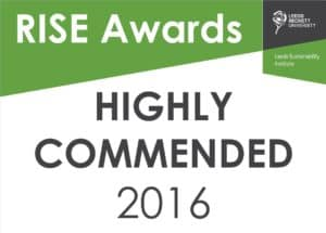 RISE Awards 2016 Highly Commended