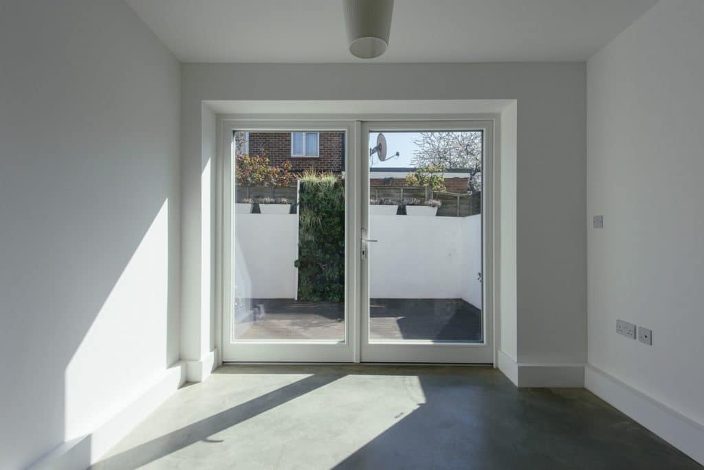 Triple glazed timber french doors green building store for Triple glazed doors