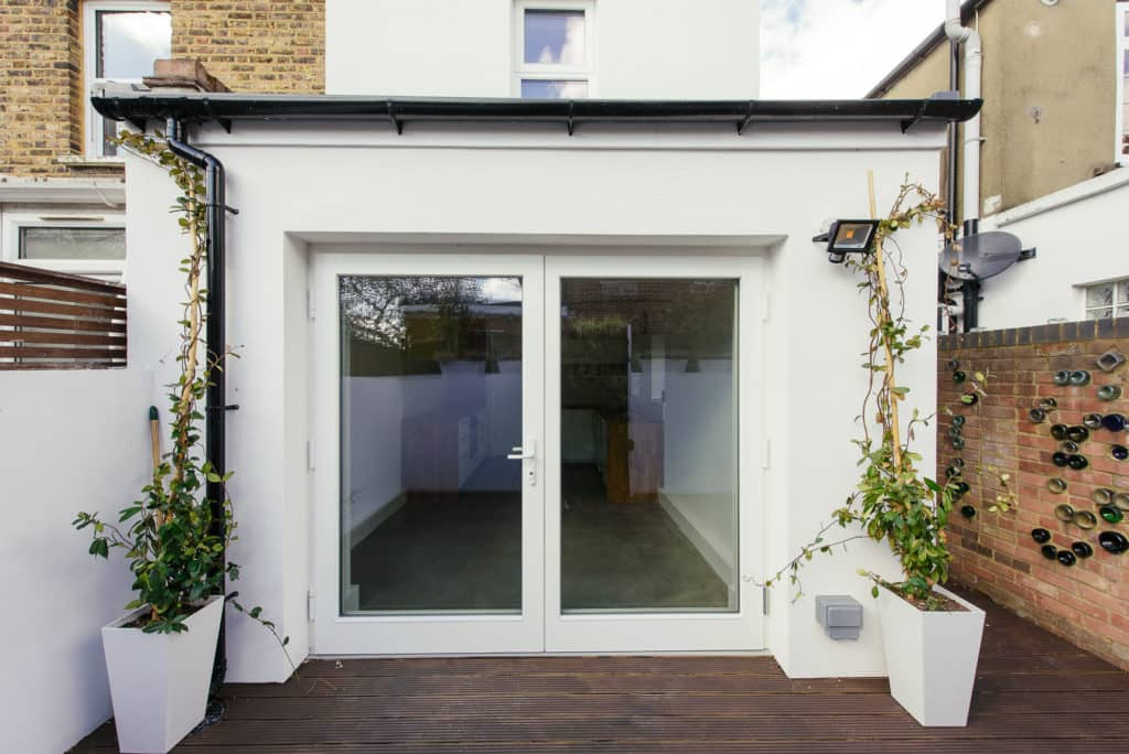 Triple glazed timber french doors green building store for Timber french doors