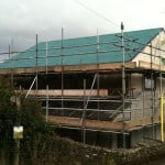 Airtightness at Rectory Cottage EnerPHit