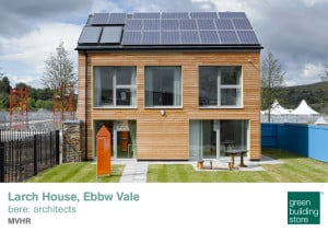 Larch House Passivhaus Green Building Store MVHR design and supply