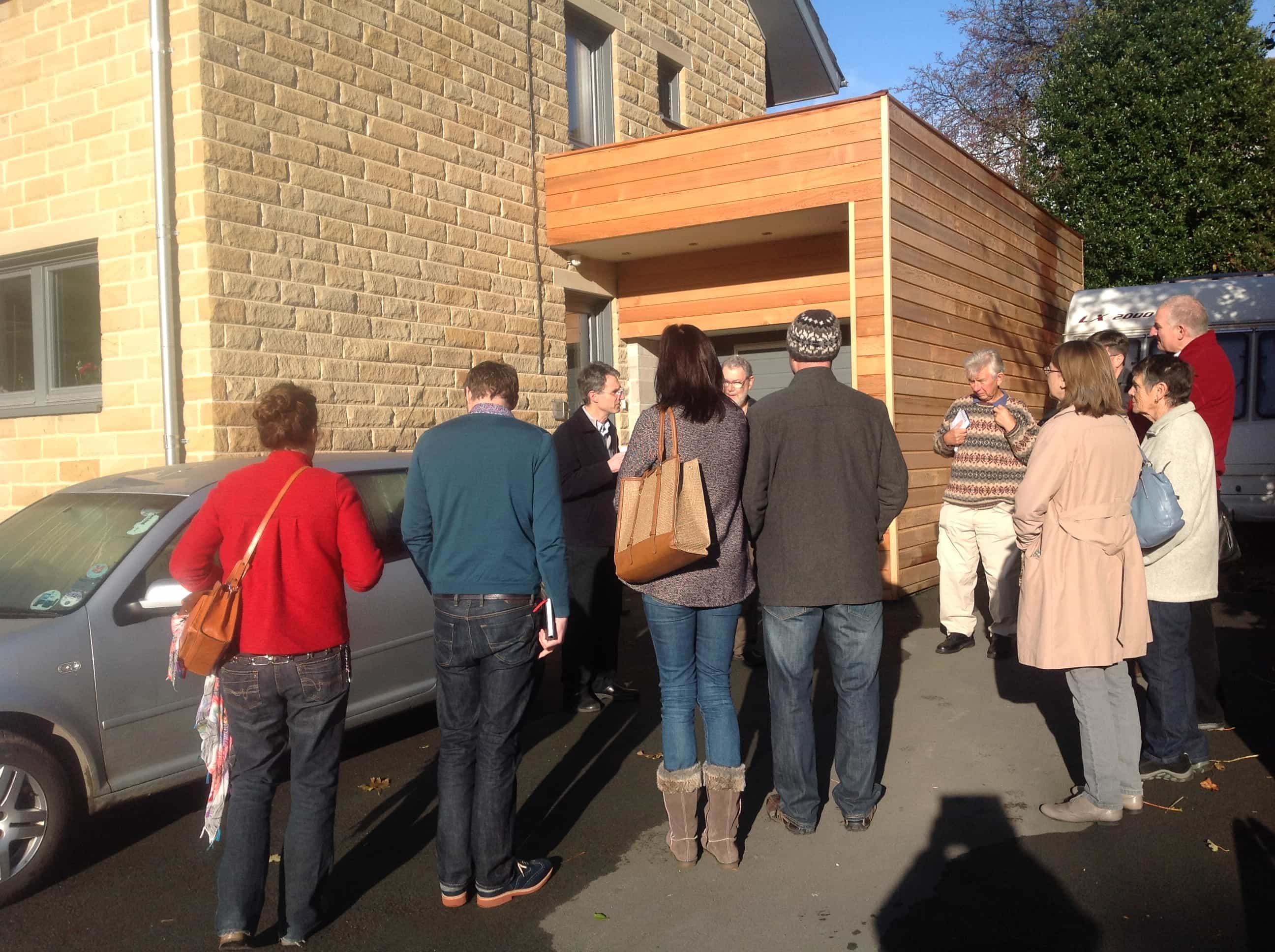 Denby Dale Passivhaus open day