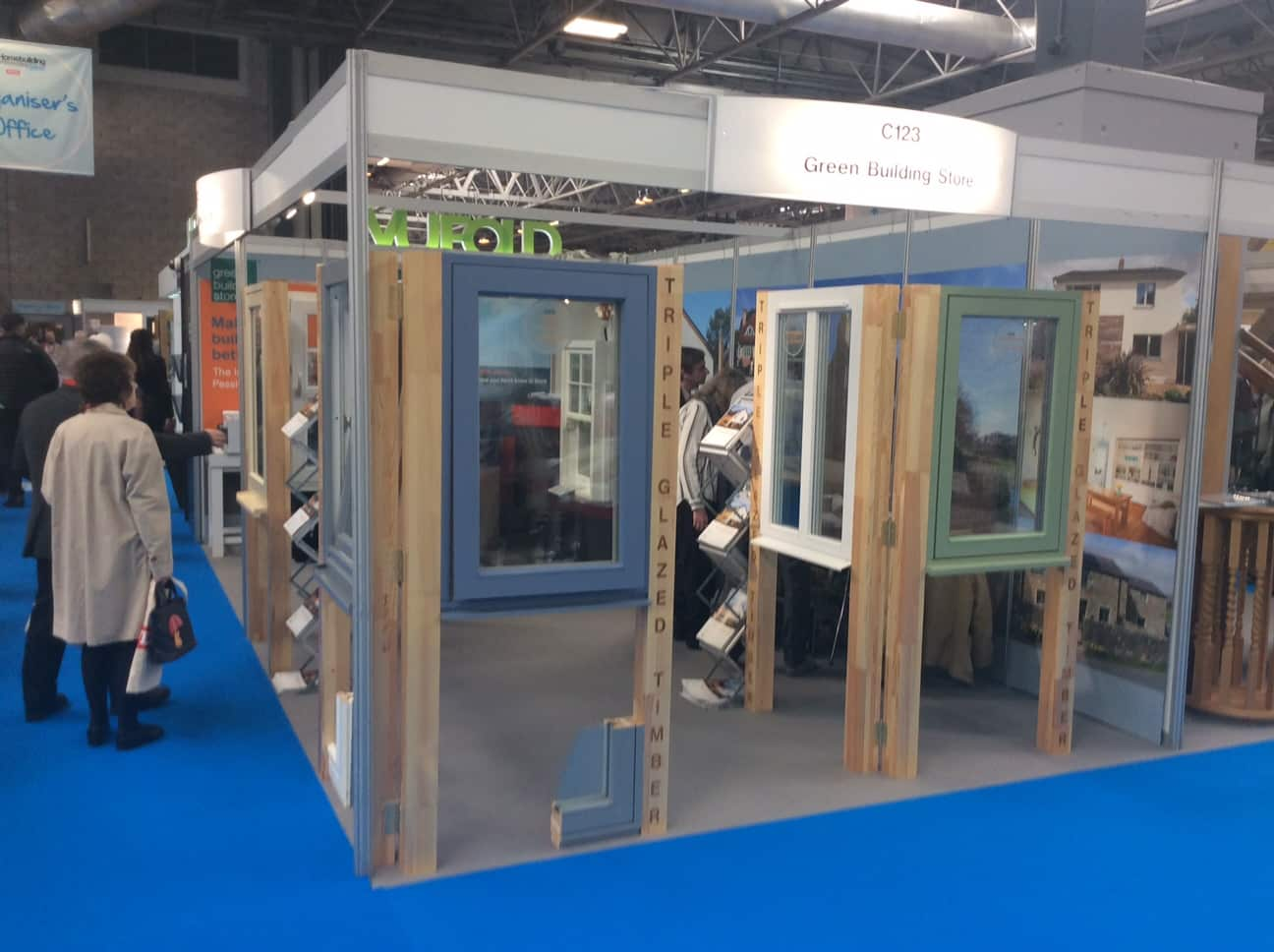 Exhibition Stand Builders Kent : Green building store exhibitions events