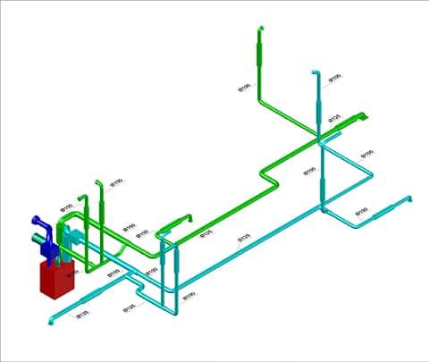 MVHR design diagram