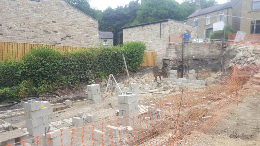 Groundworks at Kirkburton Passivhaus project