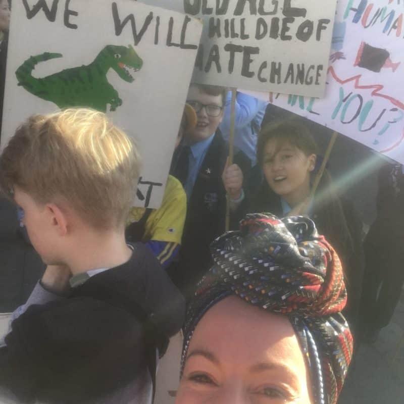 Abi at Global Climate Strike Bethnal Green