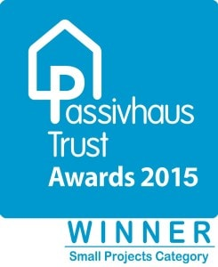 UK Passivhaus Awards 2015 Small Projects category