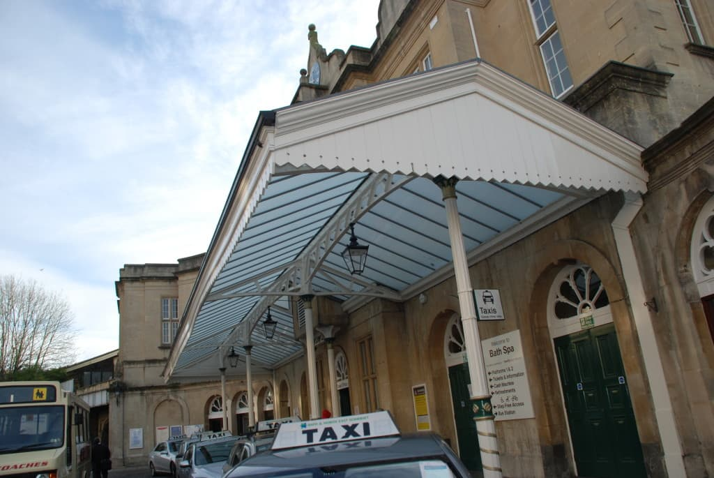 Bath Spa Train Station Water Efficient Refurbishment