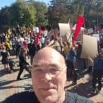 Bill Butcher Global Climate Strike Bangor