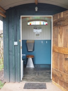 Compost toilet from Nat Sol