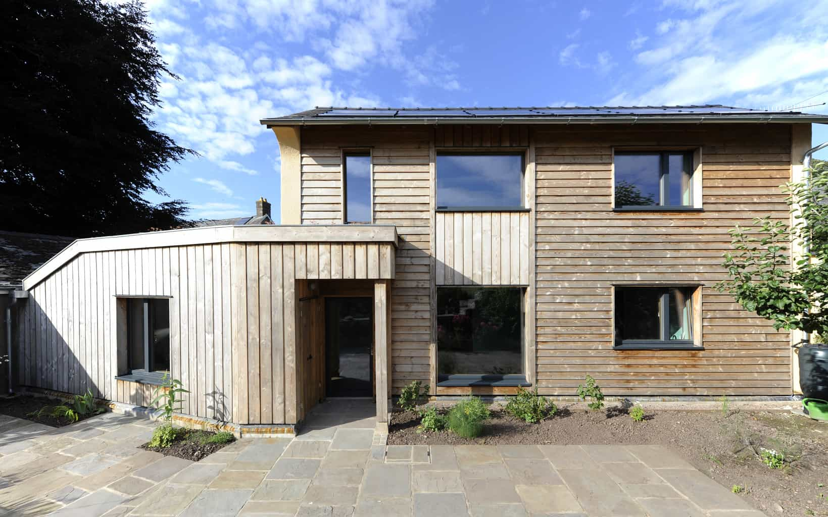 Crickhowell Passivhaus with PROGRESSION Passivhaus certified timber windows