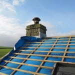 Cumberworth retrofit Pro Clima Solitex windtightness barrier plus rooflights