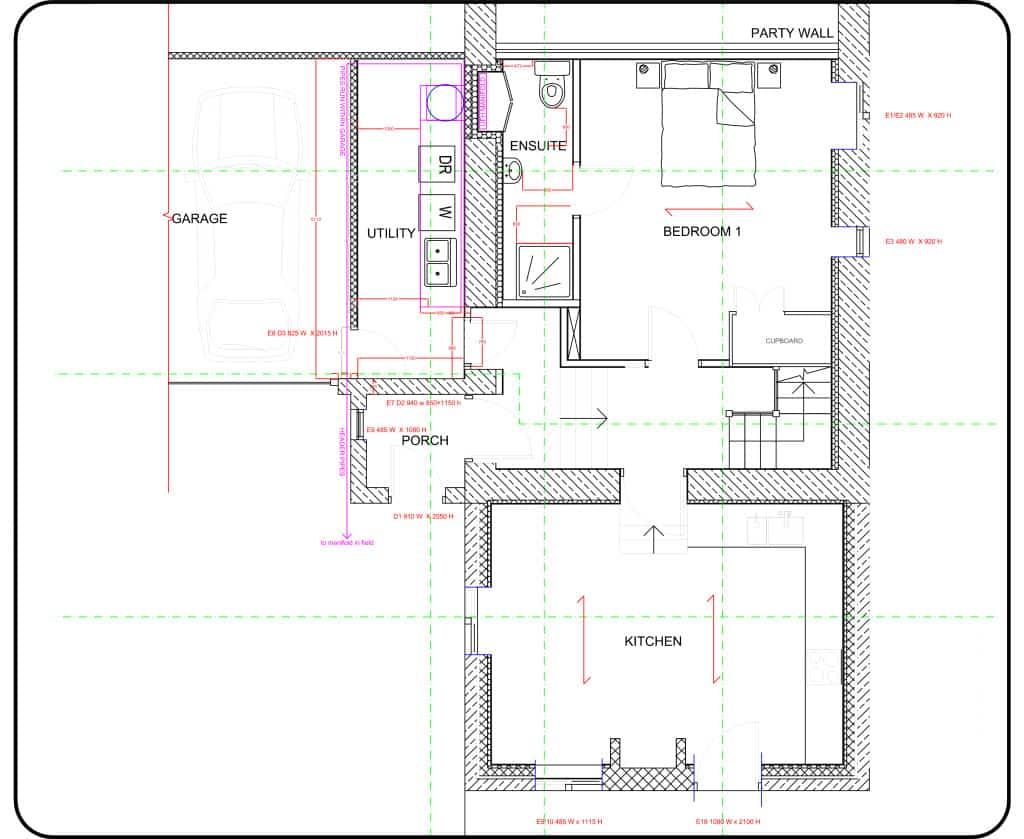 Cumberworth retrofit ground floor