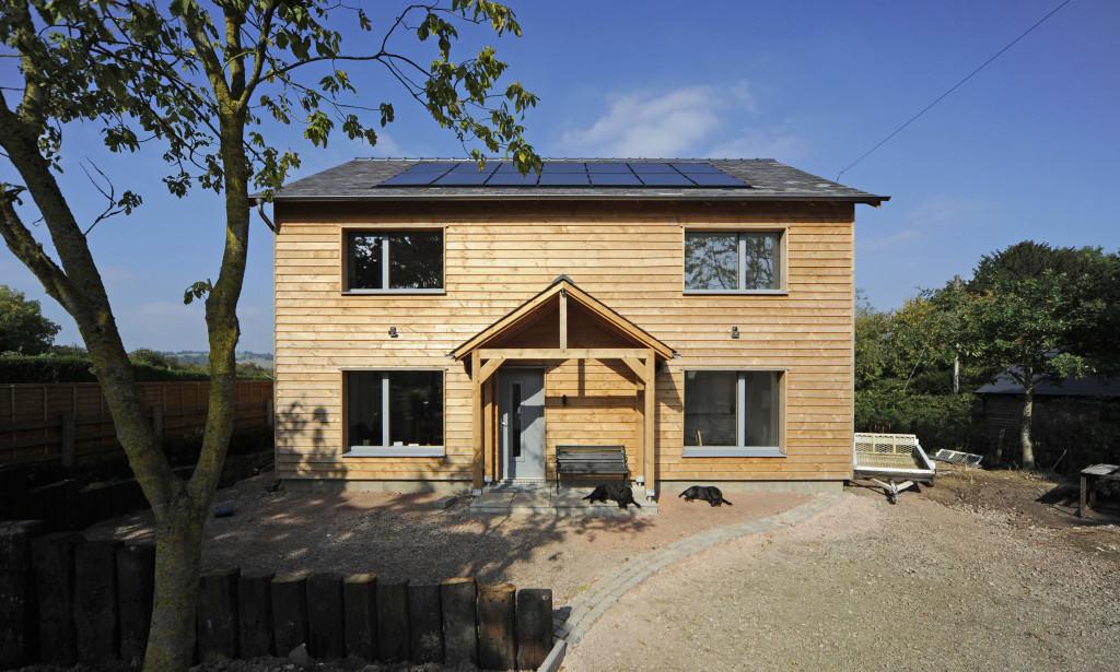 Ty-Pren Newbuild Passivhaus home in Herefordshire