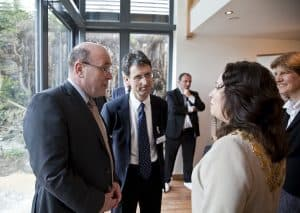 Denby Dale Passivhaus Kirklees Mayor visit