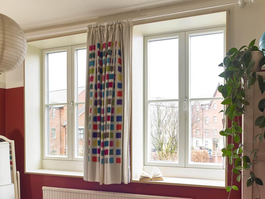 ULTRA triple glazed outward opening casement window