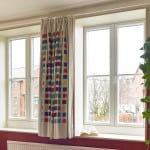 ULTRA triple glazed outward opening casement window
