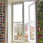 Green Building Store ULTRA triple glazed outward opening casement window