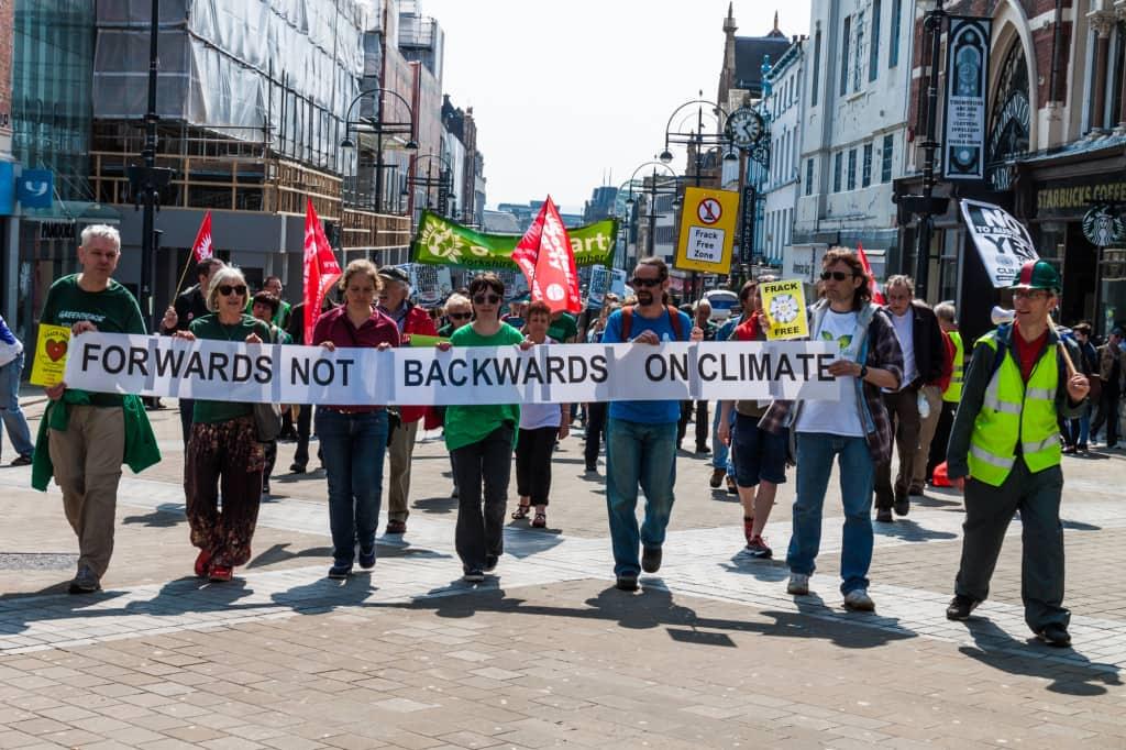 Forwards not backwards march Leeds May 7 2016