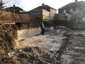 Foundations of a low energy selfbuild