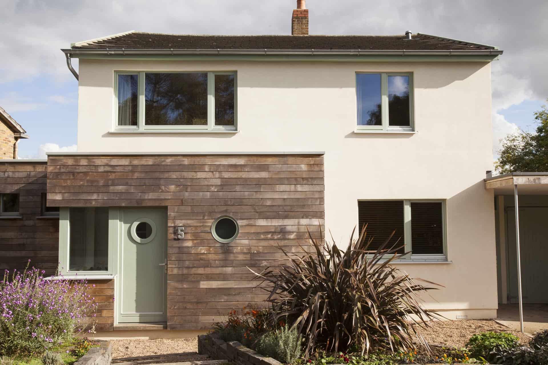 Four Walls retrofit with PERFORMANCE triple glazed windows and doors