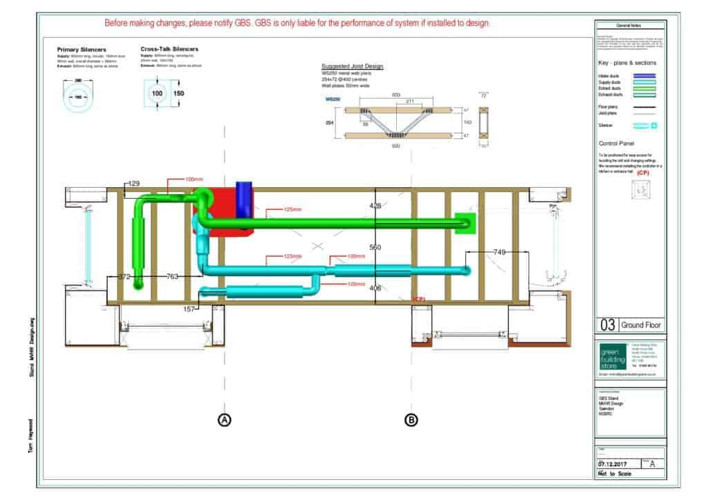 MVHR design and metal posi joists