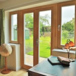 Green Building Store PERFORMANCE triple glazed timber French doors