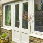 Green Building Store triple glazed timber PERFORMANCE French doors
