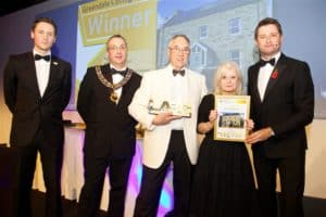 "Greendale Cottage, winner of the National Award for ""Best New Home"" at the 2014 LABC Building Excellence Awards"