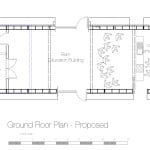 Ground Floor layout Cre8 barn Stirley Community Barn