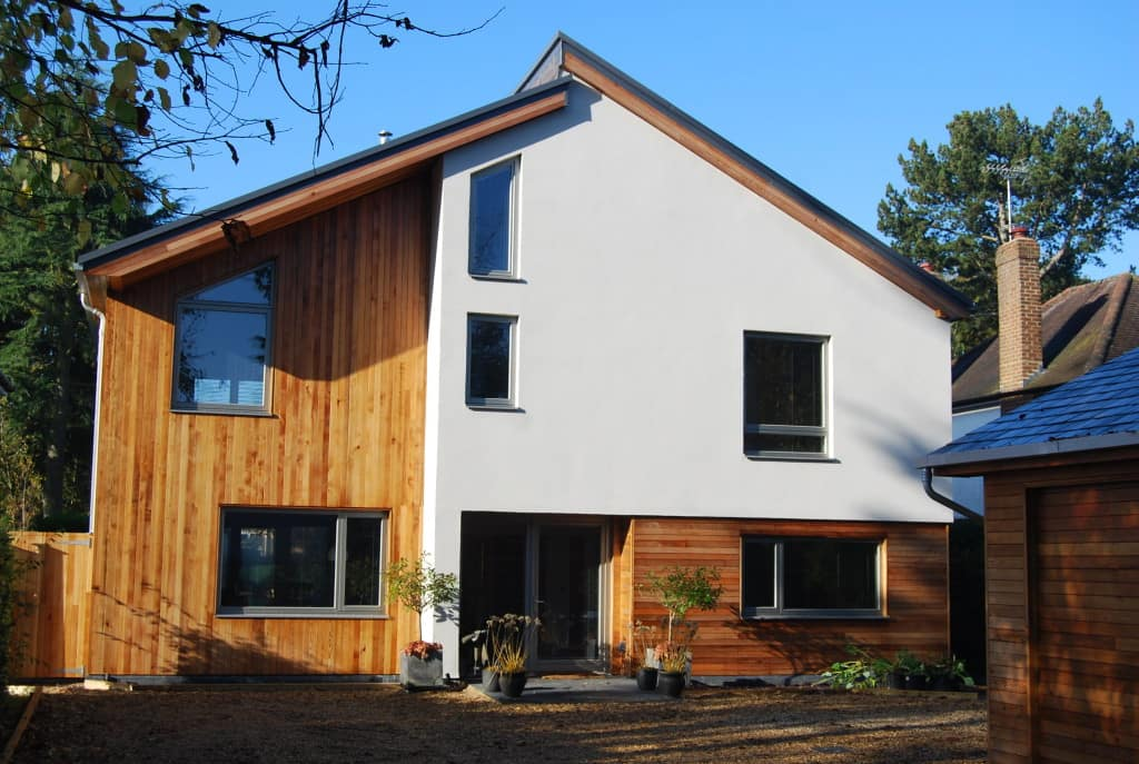 PERFORMANCE windows and doors at Hertfordshire newbuild project