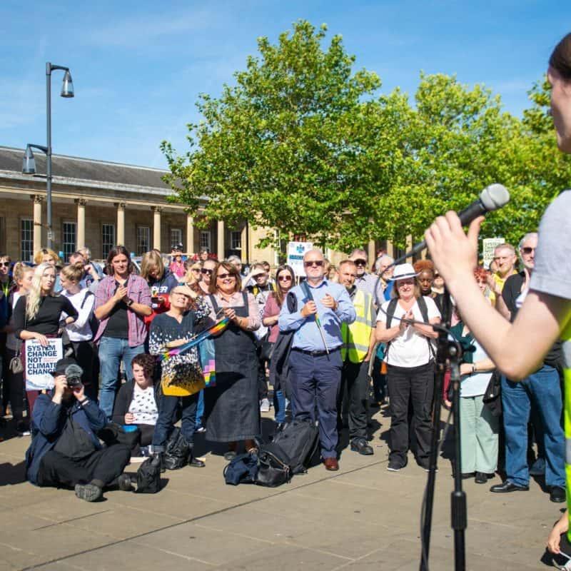 Huddersfield Global Climate Strike