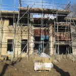 Golcar Passivhaus under construction