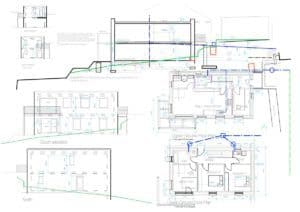 Kirkburton Passivhaus plans and elevations