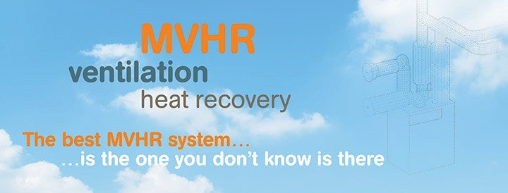 MVHR ventilation with heat recovery