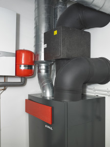 MVHR and heating at Golcar Passivhaus