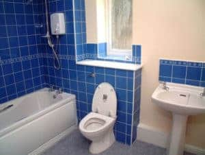 Water saving ES4 WC at Pennine 2000 social housing project
