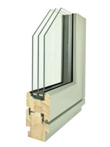 New design for PERFORMANCE triple glazed timber window range with new Accoya drip rail