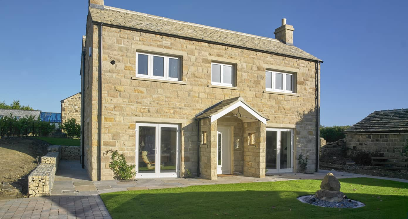 Old Forge Cottage Passivhaus Leeds with PERFORMANCE triple glazed timber windows and doors