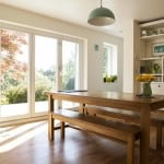 PERFORMANCE bi-fold triple glazed timber doors